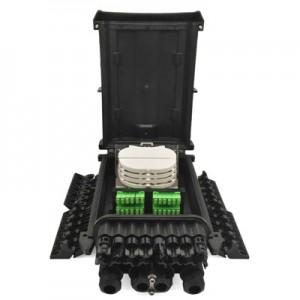 Wall mount 24 core Fiber terminal box FTTH-24L